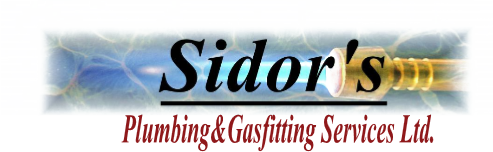 Sidor's Plumbing Services Ltd., Plumbing, Gas Fitting and Renovation Plumbing